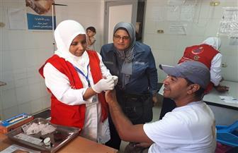 """""""100 مليون صحة"""" تكشف على 62 ألفا و801 مواطن في دمياط وتكتشف 5 آلاف حالة إيجابية"""
