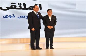 """الطالب """"إياد"""": الرئيس السيسي أعطى الأمل وفتح الحياة أمام كل شخص من ذوي الإعاقة"""