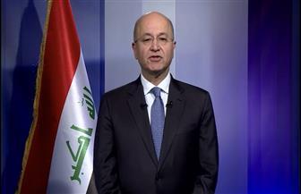 الرئيس العراقي: القضاء على الإرهاب يتطلب تعاونا والتزاما من المجتمع الدولي