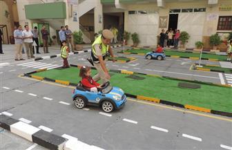 إنشاء مدينة متنقلة للأطفال بالفيوم لتعليمهم قواعد المرور