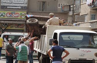تحرير 142 محضر إشغال طريق و90 مخالفة بمركز سمالوط بالمنيا