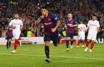 برشلونة يكتسح إشبيلية برباعية ويتصدر الدوري الإسباني.. وميسي يغيب عن الكلاسيكو بسبب الإصابة | فيديو