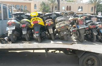 ضبط 2236 دراجة نارية مخالفة في 4 أيام