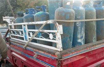 تحرير 68 قضية مواد بترولية وأسطوانات بوتاجاز خلال 4 أيام