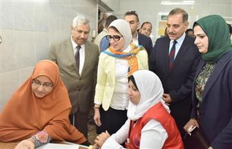 وزيرة الصحة: تشغيل 5 مراكز لعلاج الأمراض الوراثية على مستوى الجمهورية | صور
