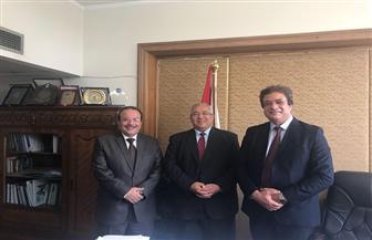 رئيس جامعة طنطا يبحث مع مساعد وزير الخارجية الإعداد لمؤتمر الصحة الإفريقية