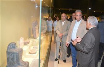 محافظ سوهاج يتفقد المتحف القومي لمتابعة سير العمل   صور