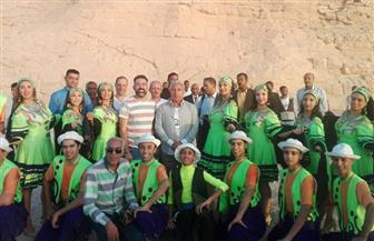 ننشر صور احتفالات تعامد الشمس على تمثال رمسيس الثاني