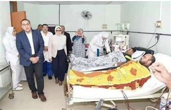 بعد انتشار الشائعات بشأنهم.. الحكومة تكشف حقيقة مرضى وحدة الكلى بمستشفى بورسعيد خلال زيارة مدبولي