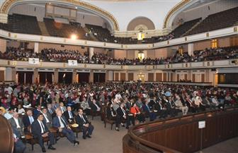تفاصيل احتفالية جامعة القاهرة بمرور 45 عاما على انتصار أكتوبر   صور