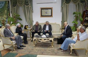 محافظ جنوب سيناء يبحث إقامة الملتقى الدولي الأول للسياحة الثقافية والتراث بشرم الشيخ