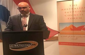 القنصل العام في سيدني يشارك في احتفال الجالية المصرية بأعياد السادس من أكتوبر
