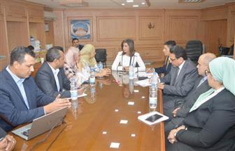 """وزيرة الهجرة تستعرض خطوات مشروع """"اتكلم مصري"""".. وتؤكد: نستهدف برنامجا تعليميا تفاعليا متكاملا   صور"""