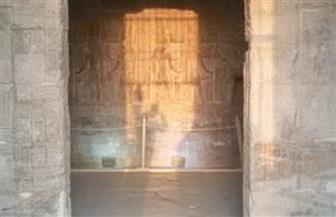تعامد الشمس على قدس أقداس معبد إيزيس في الأقصر