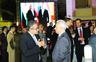 وزير الآثار يشارك دولة المجر فى الاحتفال بعيدها القومى| صور