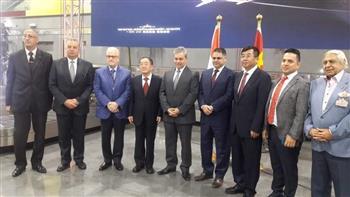 المصرية لخدمات الطيران تحتفل بوصول أول رحلة لشركة سيشوان الصينية لمطار القاهرة