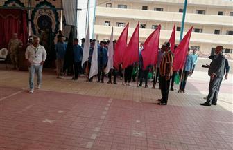 المدرسة الثانوية العسكرية بكفرالشيخ تنظم احتفالا بالذكرى الـ45 لنصر أكتوبر المجيد| صور