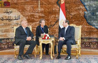 تفاصيل مباحثات الرئيس السيسي ورئيس وزراء بلغاريا بالاتحادية