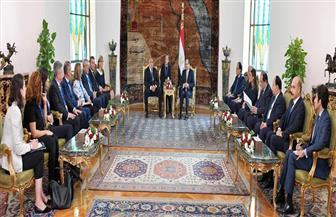 الرئيس السيسي: اتفقت مع رئيس وزراء بلغاريا على التعاون فى مجالات التعليم والصحة والتكنولوجيا