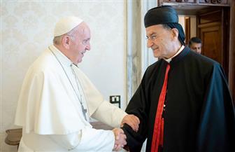 البابا فرنسيس يستقبل البطريرك الماروني