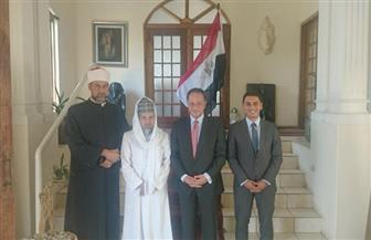 سفير مصر بجنوب إفريقيا يؤكد دعم مصر والأزهر الشريف لعمل معهد دار العلوم في بريتوريا