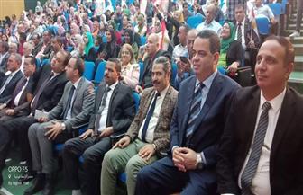 """رئيس """"مستقبل وطن"""" ومحافظ الإسماعيلية يشاركان فى احتفالية ذكرى انتصارات أكتوبر"""