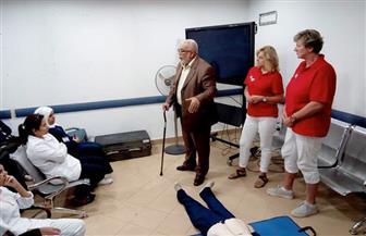 فريق طبي هولندي يدرب 30 ممرضة بمستشفى الأقصر العام   صور
