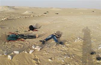 مقتل 11 إرهابيا أثناء مداهمة أمنية بالطريق الصحراوي الغربي | صور