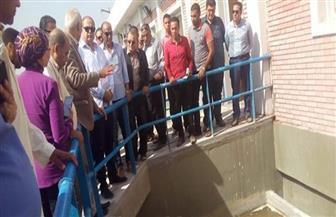 محافظ الغربية يشدد على الانتهاء من أعمال محطة مياه قطور فى الموعد المحدد| صور