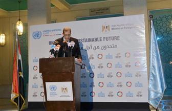 نص كلمة وزير الخارجية فى احتفالية يوم الأمم المتحدة | صور