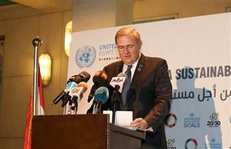 المنسق المقيم للأمم المتحدة: اليوم فرصة للنظر إلى الشراكة مع مصر | صور