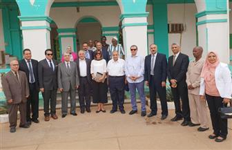 5 وزراء يزورون بعثة الري المصري بالسودان على هامش اجتماعات اللجنة العليا المشتركة بين البلدين   صور