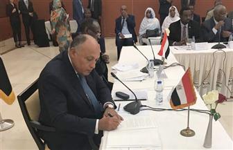ننشر البيان الختامى للجنة الوزارية المصرية السودانية المشتركة | نص كامل
