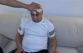 تعرف على حجم إصابة حسام حسن عقب مواجهة فيتا كلوب | صور