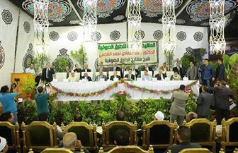 محافظ كفرالشيخ يشهد احتفال الطرق الصوفية بالمولد الإبراهيمي بدسوق | صور