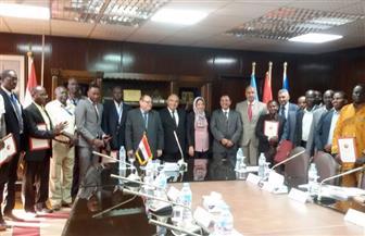 """""""الكهرباء"""" تحتفل بتخريج دفعة جديدة من دول حوض النيل ضمن برامجها التدريبية"""