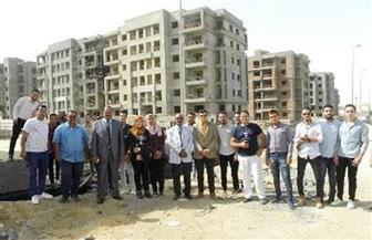 انطلاق الفوج الثالث من طلاب جامعة بني سويف لزيارة مشروع دار مصر بالشيخ زايد | صور