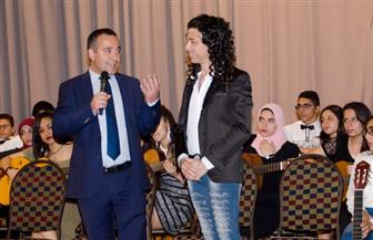 عازف الجيتار عماد حمدي: التكريم يعطي دفعة للفنان | صور