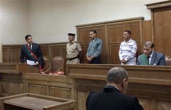 """النيابة بجلسة محاكمة """"محمود نظمي"""": أنياب الخسة لدى المتهم اغتالت الطفلين  صور"""