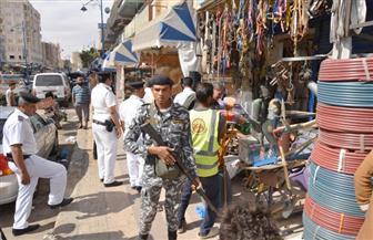 محافظ مطروح: حملات مكثفة لإزالة الإشغالات بشوارع مرسى مطروح | صور