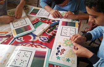 ورش لتعليم الأطفال الفن الإسلامي ببيت السناري| صور