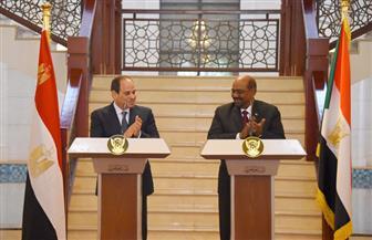 نص البيان الختامي للدورة الثانية للجنة الرئاسية المصرية السودانية المشتركة | صور