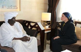 وزيرة البيئة تدعو نظيرها السوداني لحضور مؤتمر التنوع البيولوجي بشرم الشيخ