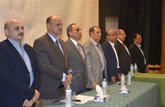 عبد المحسن سلامة للصحفيين الجدد: اخلع رداءك الحزبى على باب النقابة لإعلاء مصلحة المهنة | صور