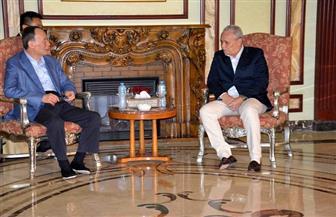 نائب الرئيس الصيني في لقائة مع محافظ الأقصر: الصين ومصر متشابهين | فيديو وصور