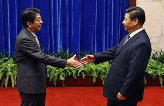 الرئيس الصيني يستقبل رئيس الوزراء الياباني في بكين