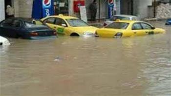 ارتفاع حصيلة ضحايا السيول في الأردن إلى 12 شخصا