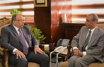 وزير التنمية المحلية يبحث مع سفير الهند بالقاهرة سبل تعزيز التعاون بين البلدين |صور