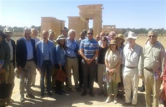 وزير الآثار: زيارة السفراء للمواقع الأثرية رسالة إلى العالم أن مصر آمنة |صور