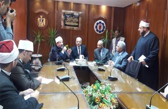 وزير الأوقاف يعلن من السويس عن منح للأئمة المتميزين   صور